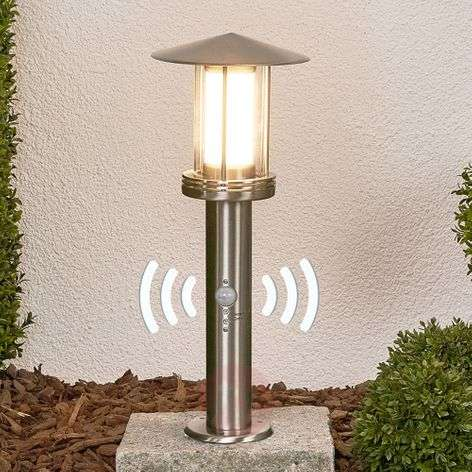 Motion detector -LED pillar light Swantje