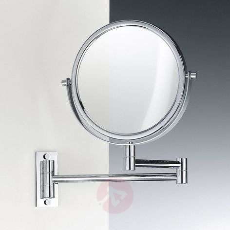 NEAT elegant cosmetic wall mirror with jointed arm