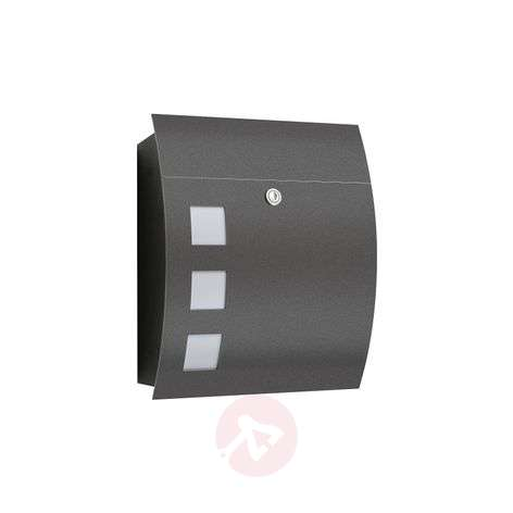 Nila High Quality Letterbox, Anthracite