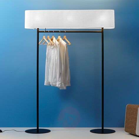 Nomad - floor lamp and coat rack in one
