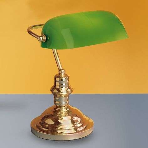 Onella table lamp, green