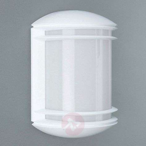 Outdoor wall lamp Dublin, large angle, white