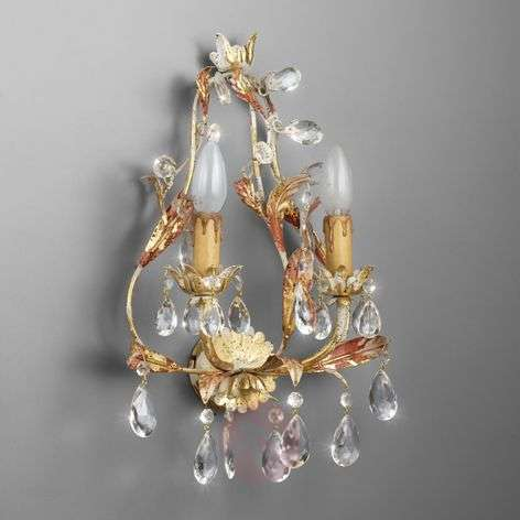 PERUGIA two-bulb wall light