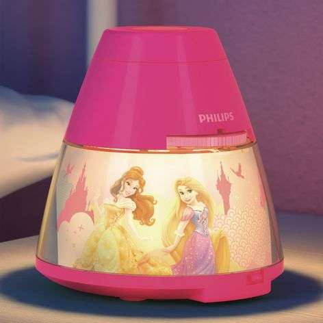 Princess Projector and Night Light with LED