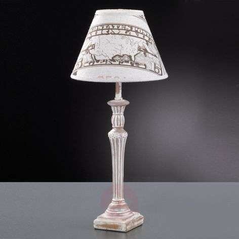 Printed fabric table lamp City