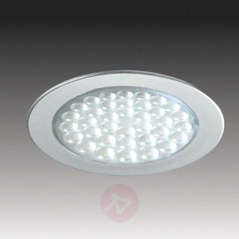 R 68 LED recessed light in stainless steel look