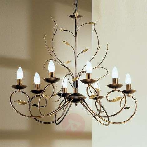 Regine Florentine Chandelier Eight Bulbs