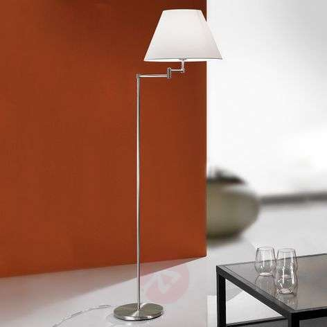 Ria Floor Lamp Elegant Nickel Matte