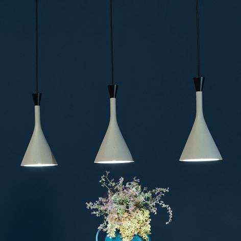 Roddik 3-bulb pendant light