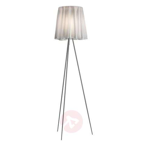 ROSY ANGELIS floor lamp with a silver frame