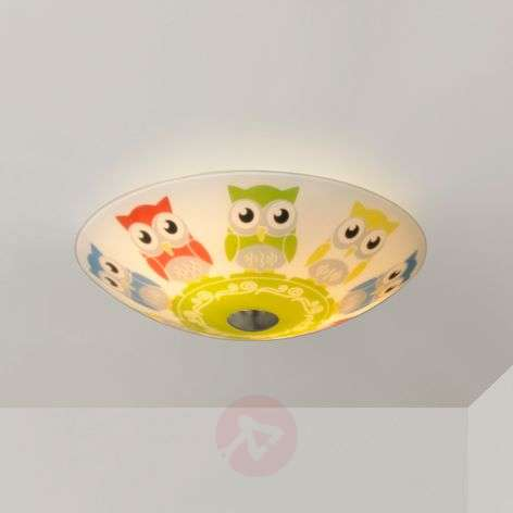 Round children's room ceiling light Eula, 30 cm