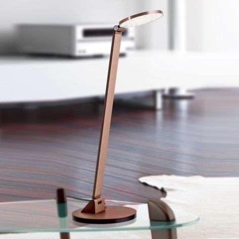 Round head - LED table lamp Ayana with dimmer