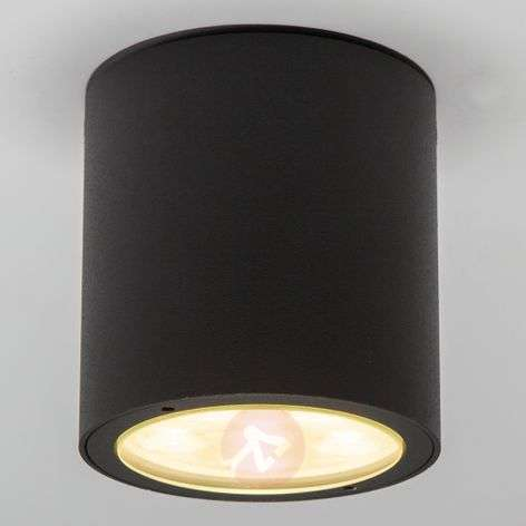 Round LED outdoor ceiling spotlight Meret, IP54