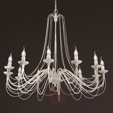 Country and rustic chandeliers buy online lights rustic country style chandelier antonina 12 light aloadofball Images