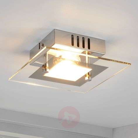 Rectangular led ceiling light manja with chrome lights small led ceiling light manja aloadofball Image collections