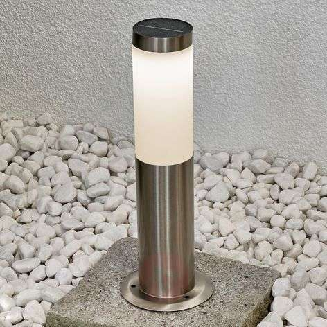 Solar-powered LED pillar lamp Jolla