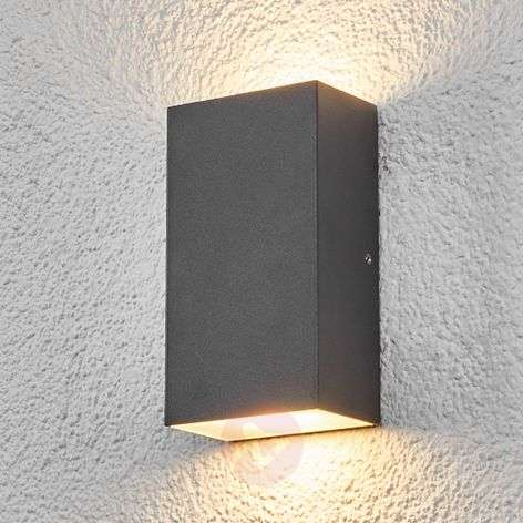 Square LED outdoor wall light Weerd