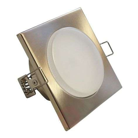 Square LED recessed light NUMA