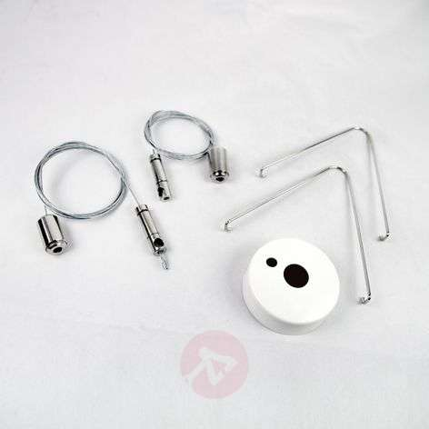Stainless steel cable suspension for Modul ESO