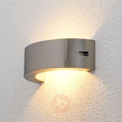 Stainless steel LED outdoor wall light Marisa