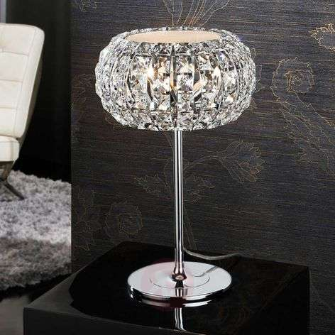 Table Lamp Diamond With Crystals