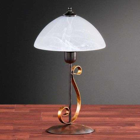 Table lamp LISA with decorative base