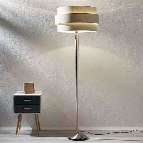 Timelessly beautiful Invento 3D floor lamp grey