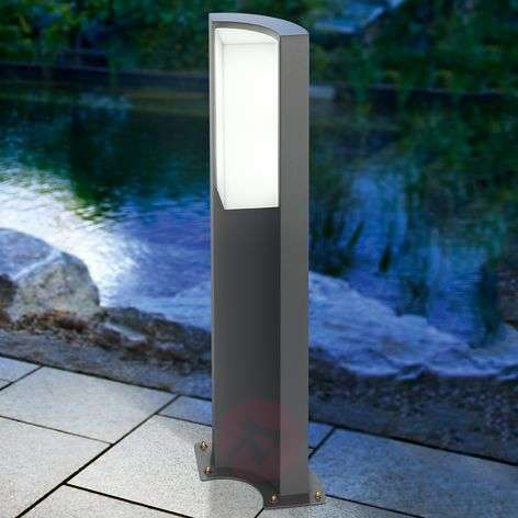 Tirano modern pillar light with LEDs
