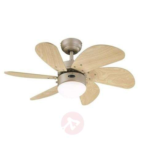 Turbo Swirl ceiling fan with two pull cords
