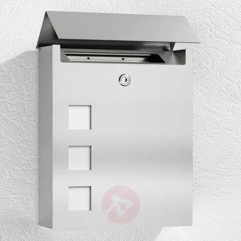 Ulani Noble Letterbox Made of Stainless Steel