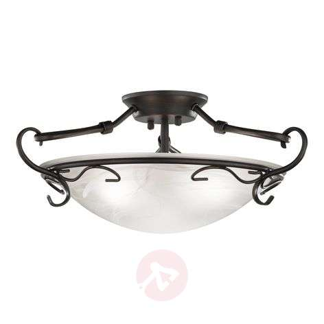 Venturi Ceiling Light 22 cm Antique Rust Colour