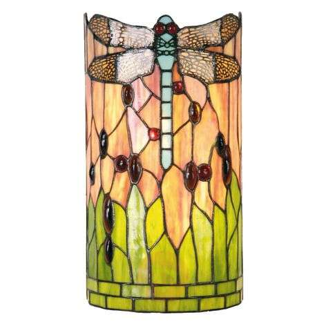 Wall lamp Ena in the Tiffany style