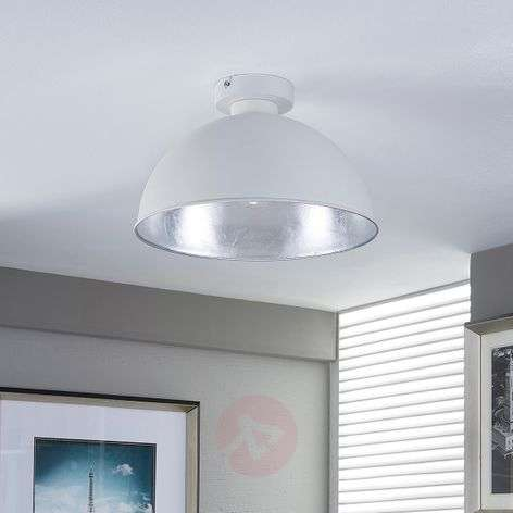 White and silver ceiling light Lya