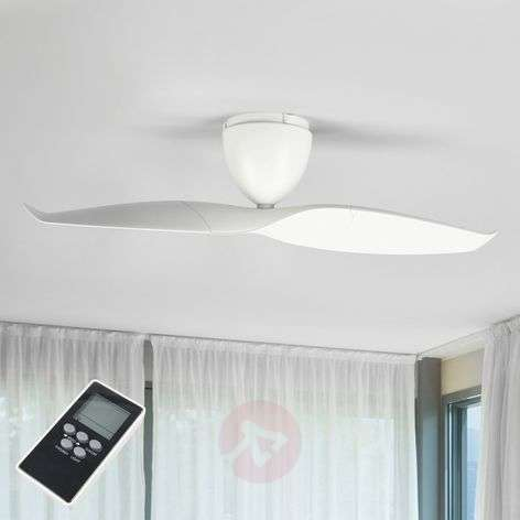 White ceiling fan Wave 109.2 cm