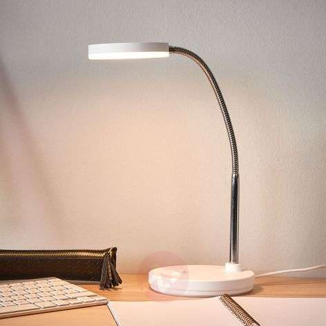 White LED desk lamp Milow