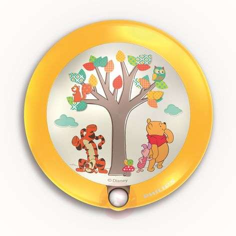 Winnie the Pooh LED night light, motion detector