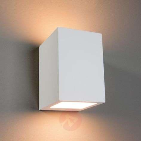 Square Ceramic Wall Lights : Buy Plaster/Ceramic Wall Lights from Lights.co.uk