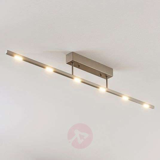 Margeau Led Ceiling Light Nickel Dimmable G4fffavf
