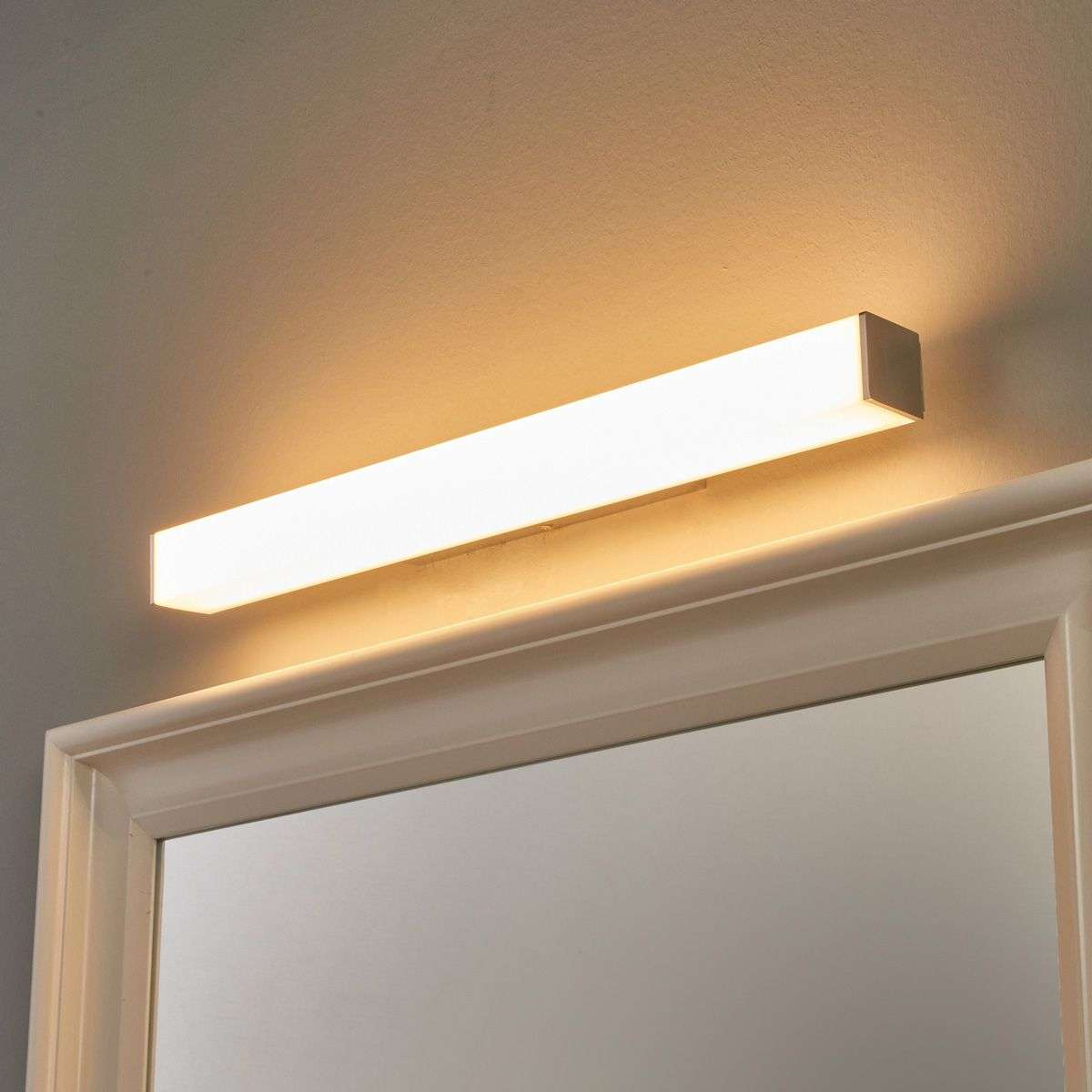 Led Bathroom Wall Lights Uk: Angular LED Bathroom Wall Lamp Lenn