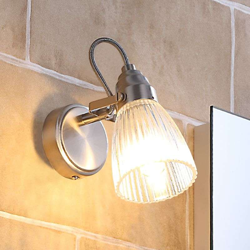 attractive bathroom wall light kara with led ip44. Black Bedroom Furniture Sets. Home Design Ideas