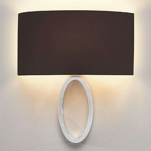 Black fabric wall light Lima-1020519-31