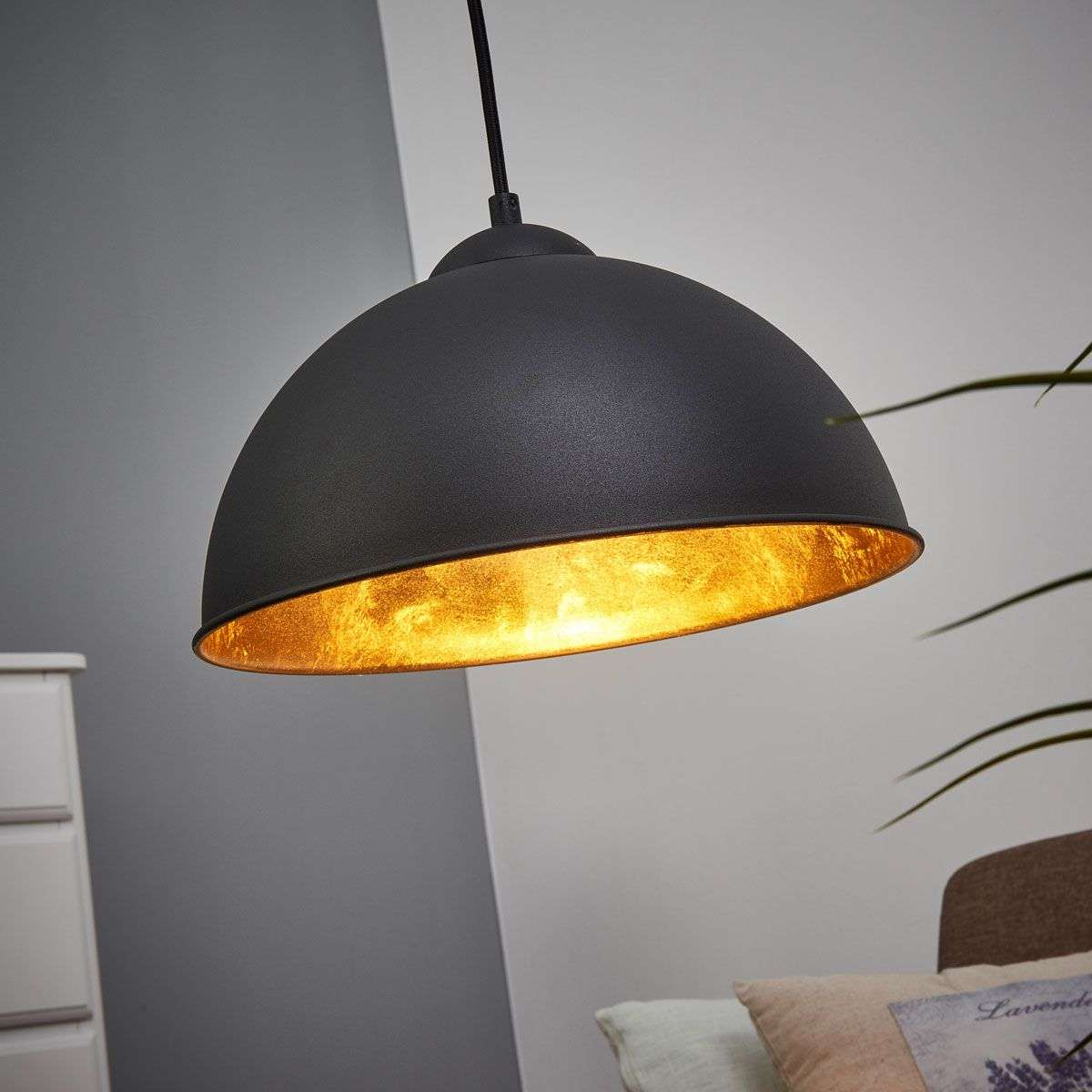 black gold jimmy metal hanging light. Black Bedroom Furniture Sets. Home Design Ideas