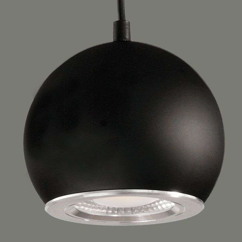 Black LED hanging light Simon-1050096-31