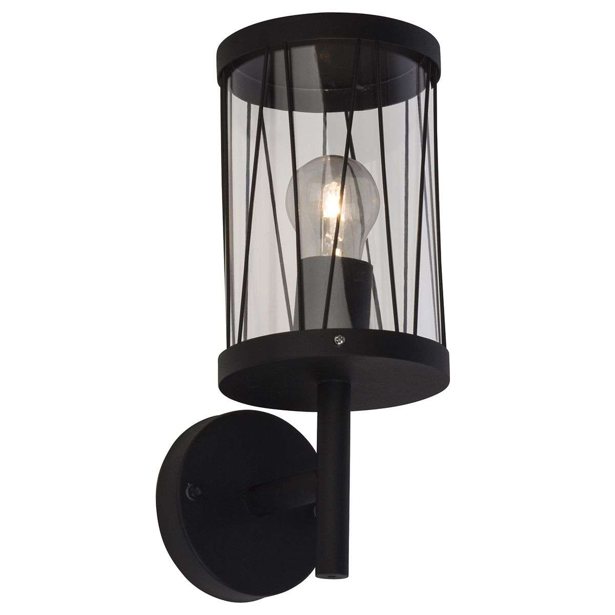 Black outdoor wall lamp reed with wall bracket lights black outdoor wall lamp reed with wall bracket 1509158 31 aloadofball Choice Image