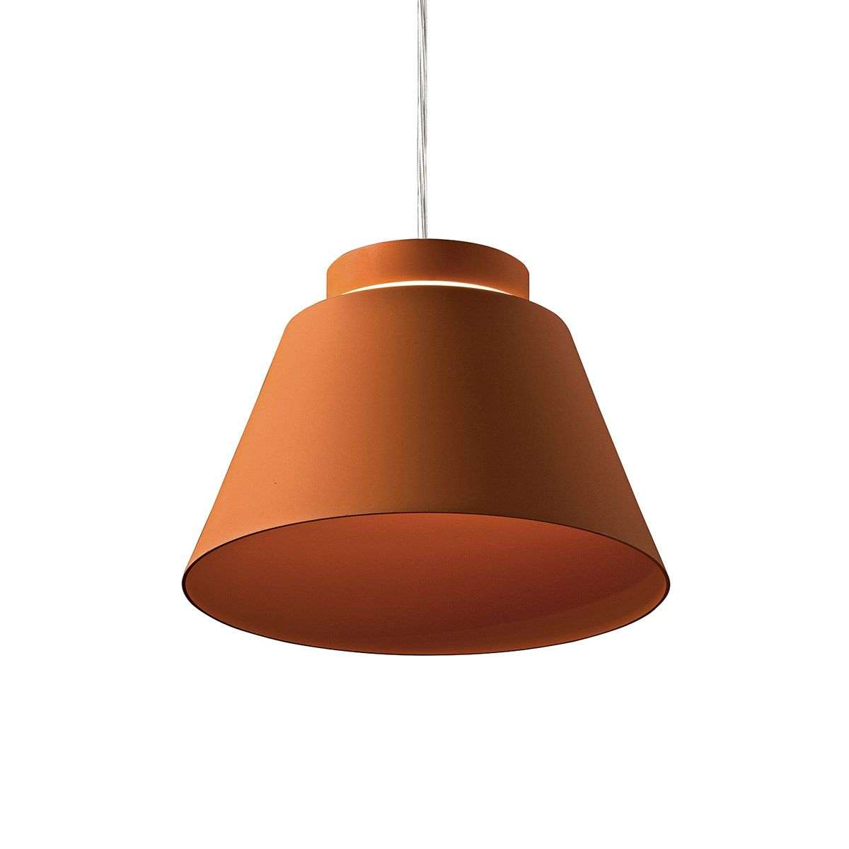 Brick red colour LED hanging l& Lia-3039202-31  sc 1 st  Lights.co.uk & Brick red colour - LED hanging lamp Lia | Lights.co.uk