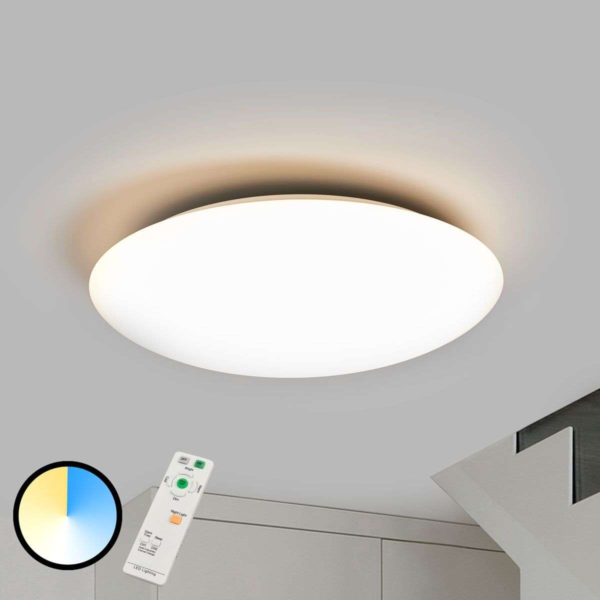 Bright dimmable led ceiling lamp teo remote lights bright dimmable led ceiling lamp teo remote mozeypictures