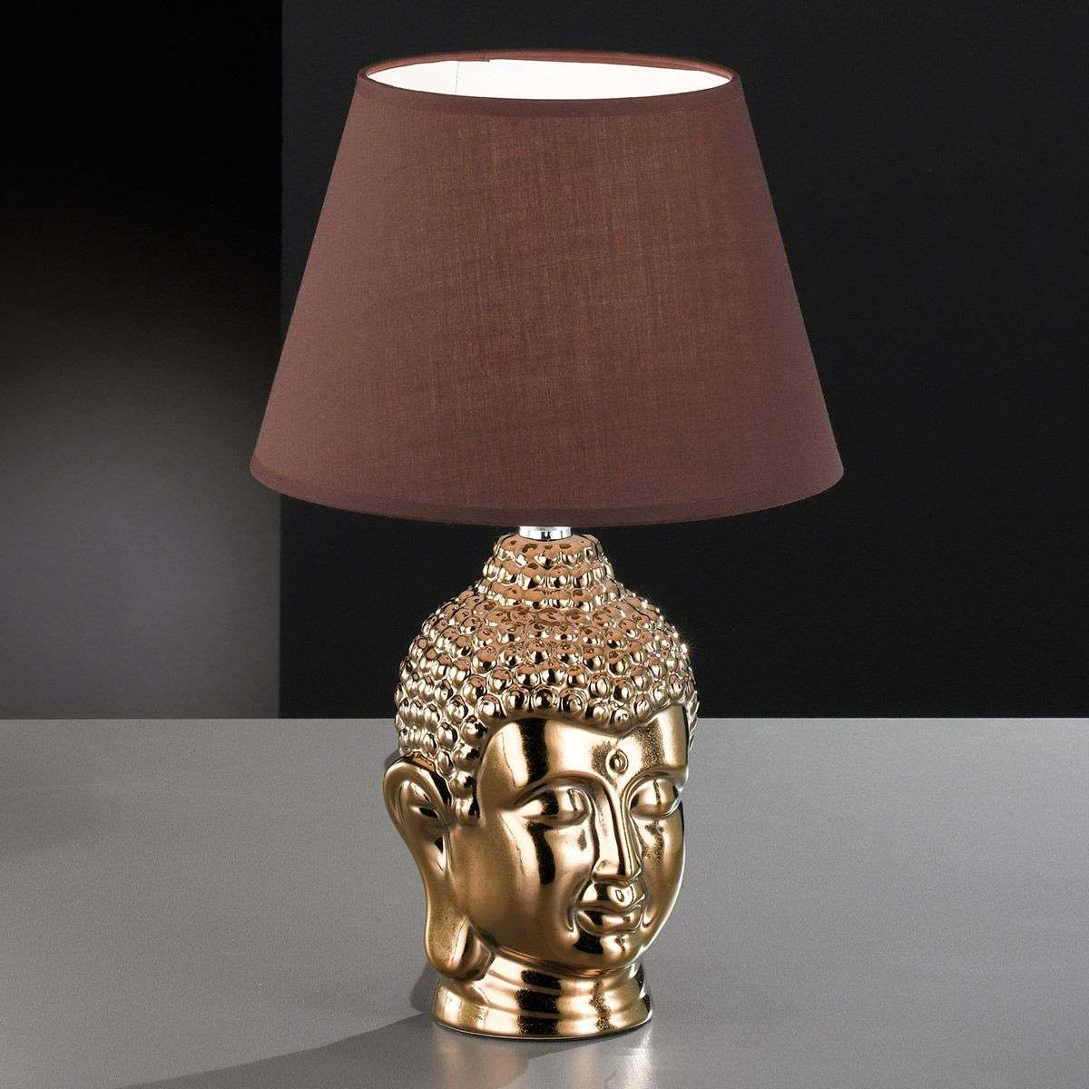 Buddha table lamp with a golden base lights buddha table lamp with a golden base 4581118 31 aloadofball Images