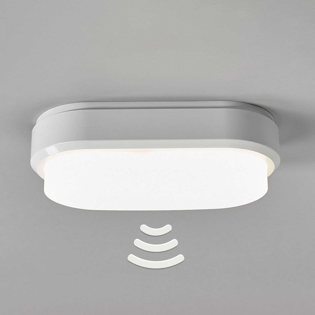 Bulkhead oval led ceiling lamp with sensor lights bulkhead oval led ceiling lamp with sensor 8559217 31 mozeypictures Image collections