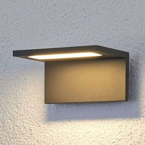 Delightful Caner Flat LED Outdoor Wall Light 9619019 31