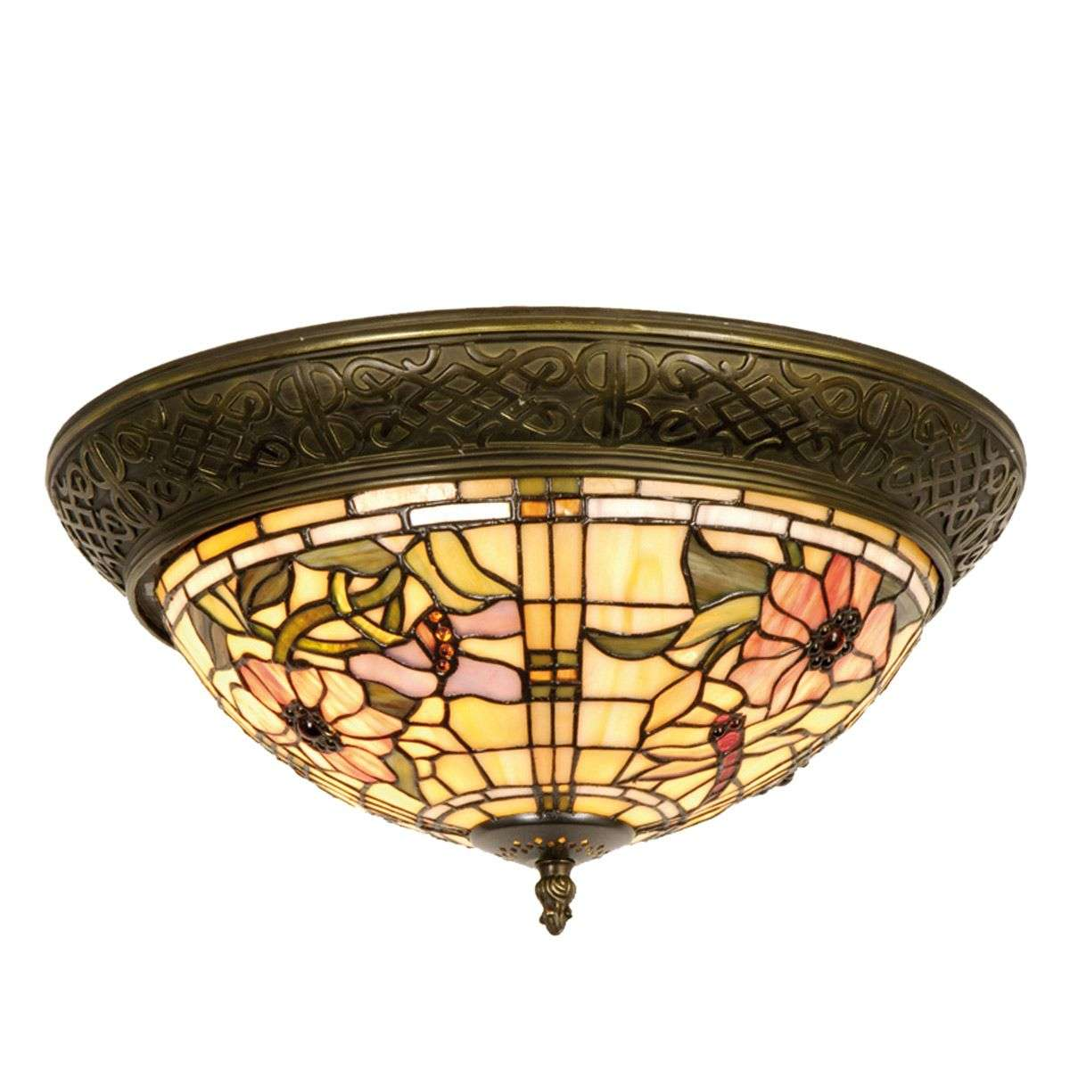 Ceiling Lights Lantern Style : Ceiling light mira in the tiffany style lights